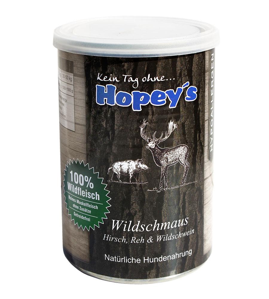 Wildbret für Hunde - Hopey's Nassfutter