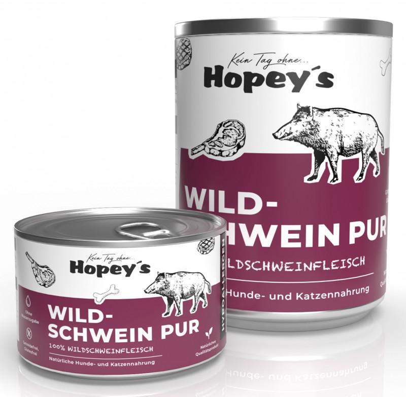 Hypoallergenes Hundefutter Wildschweinfleisch Pur