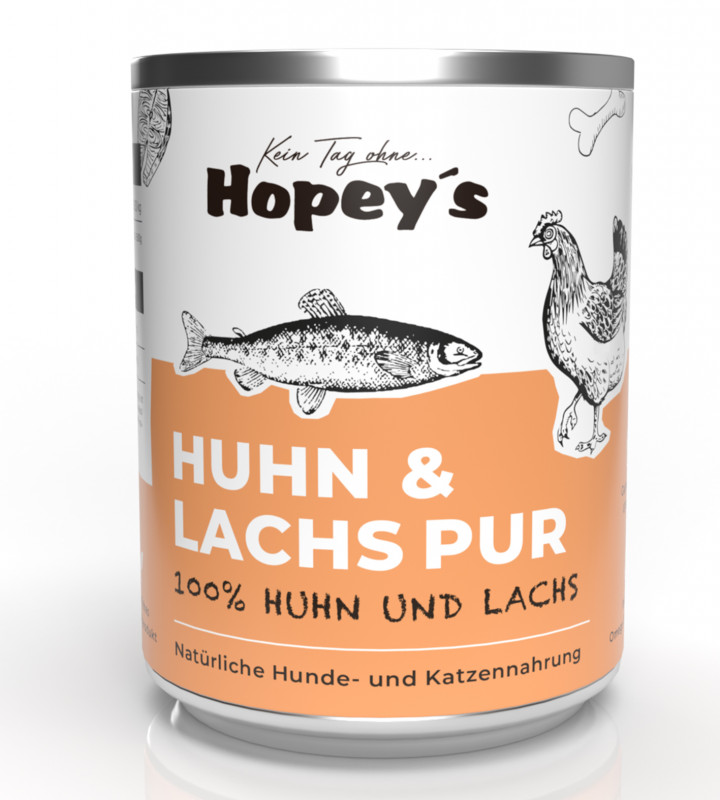 Hundefutter Lachs & Huhn Pur